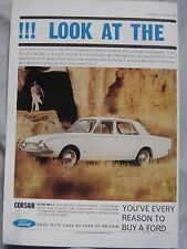 1963 Ford Corsair Original advert