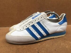 Rare Vintage Adidas KEGLERSCHUH Trainers Made in West Germany Size Uk 8.5 | UK 9