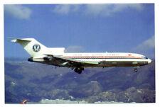 UNION OF BURMA Airways Boeing 727-193  Postcard