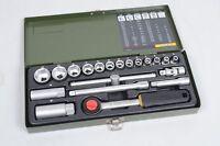 """PROXXON Industrial 3/8"""" 10mm Steckschlüsselsatz metrisch 20-teilig Top Zustand"""