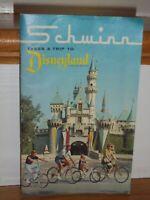 SCHWINN 1966 Bicycle Sales Catalog DISNEYLAND Stingray Paramount Cycle Truck