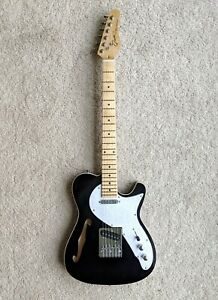 Grote electric Tele type F hole guitar
