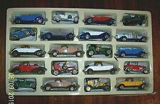 20 Piece Die Cast Classic Car Set