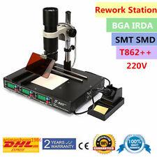 T862++ BGA Infrared Rework Station IR Soldering SMD IRDA Welder Schweißgeräte DE