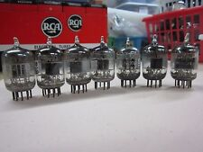 Ge Gl 5670 Vacuum Tubes Quantity 7 - Measured Strong on Amplitrex Lot 2