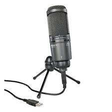 Audio Technica AT2020USB+ USB Studio Condenser Microphone With Tripod Stand