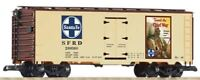 """PIKO G SCALE SF """"TRAVEL THE CHIEF WAY"""" REEFER 200368 