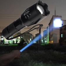 2000 Lumen Cree T6 High Power LED Taschen-lampe Flash-light Fokus Zoom·