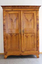 Bücherschrank Kleiderschrank Kirschbaum Biedermeier um  1800/20 #4737