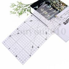 30x15cm Acrylic Rulder Patchwork Ruler School Office Stationery Quilting Craft
