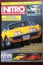 Nitro n°187 du 8/2000; Dossier Corvette/ Nash Suburban 47/ 24 heures du Mans