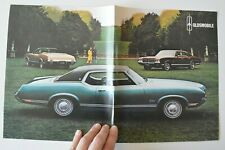 OLDSMOBILE F-85 CUTLASS 4-4-2 1971 dealer sheet brochure - French - Canada