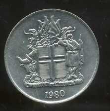 ISLANDE 10 kronur 1980