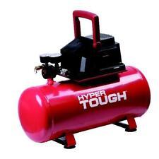 3 Gallon Air Compressor Red Hyper Tough Portable Oil Free Hotdog Tank Garage