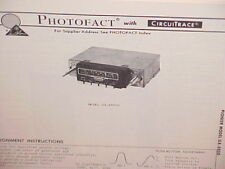 1978 PIONEER CAR AUTO STEREO AM-FM RADIO SERVICE SHOP MANUAL MODEL GX-5050G