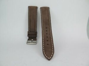 Omega Brown 19mm Strap including buckle