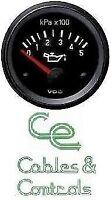 VDO Oil pressure gauge, 12volt, 52mm 2 inch 500kpa