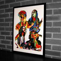 Greta Van Fleet Hard Blues Rock Music Poster Print Wall Art 18x24