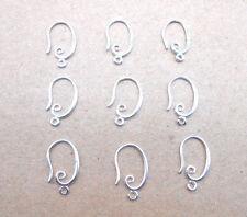 10pcs Silver Hook Earring Earwire DIY Jewelry Finding Accessories Wholesale