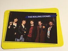 1985 AGI Rock Star Concert Cards #18 The Rolling Stones Non-Sports Card