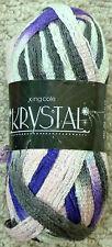 End of Season 3 X 100g Fashion King Cole Krystal Yarn - 399 Wonderful