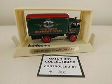 Matchbox Collectibles YGB-03 1918 ATKINSON Steam Wagon with SWAN BREWERY Logo