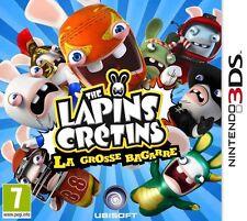 LAPINS CRETINS : LA GROSSE BAGARRE JEU 3DS NEUF