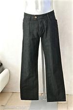 joli pantalon décontracté en coton rayé noir KENZO HOMME taille W34 (42-44)