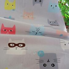 One PCS Cotton Fabric Pre-Cut Cloth Fabric for Sewing Cats S1
