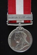 STERLING SILVER CANADIAN GENERAL SERVICE MEDAL.( FENIAN RAID 1866)