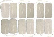 Gran Adhesivo Electrodo almohadillas Set De 12 decenas Electrodo almohadillas Reutilizable