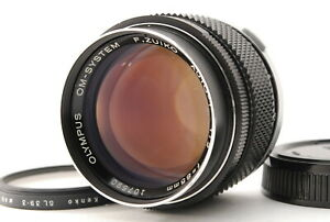 【EXC+3】 Olympus OM-System F.Zuiko Auto-T 85mm f2 MF Portrait Lens JAPAN #223