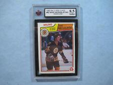 1983/84 O-PEE-CHEE NHL HOCKEY CARD 52 MIKE KRUSHELNYSKI ROOKIE KSA 8.5 NMMT+ OPC