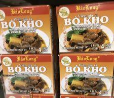 Bao Long Bo Kho Stewed Beef Vietnamese Style Seasoning 4 Packs (16 Cubes)