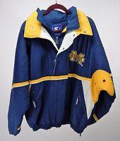 Vintage University of Michigan Wolverines Pullover Starter Coat Size XL