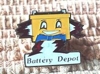 Battery Depot pin badge car automotive industrial replacement company