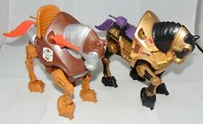 Vintage Mattel Masters Of The Universe Night Stalker & Stridor Figures MOTU Used