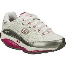 Skechers Shape Ups Kinetix Response SRT (Women's Size 8.5 US) White/Silver/Pink
