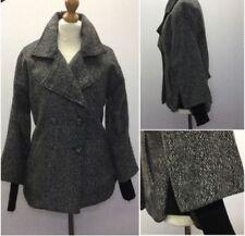 Winter-Zweireihige Damenjacken & -mäntel aus Wollmischung