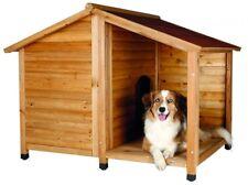 Trixie natura Hundehütte Lodge mit Satteldach M–L: 130 × 100 × 105 cm natur