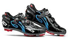 SIDI Drako Carbon Woman MTB Shoes - Black/Light Blue