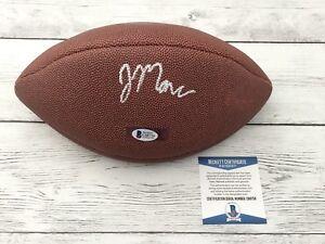 John Mara Signed Official Size NFL Wilson Football NY Giants BECKETT BAS COA b