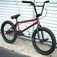 "2018 CULT BMX BIKE DEVOTION 20"" BICYCLE TRANS RED SUNDAY FIT KINK HARO SUBROSA"