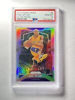 2019-20 Panini Silver Prizm #8 Kobe Bryant Los Angeles Lakers PSA 10 HOF 🔥