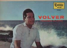 FERNANDO ALVAREZ disco LP 33 g VOLVER stampato in PUERTO RICO  made in PORTORICO