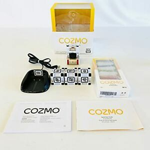 Takara Tomy COZMO Anki Robot Charger Cubes Learning Smart Toy Used Japan F/S