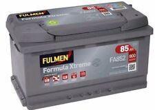 Batterie Fulmen FA852 12v 85ah 800A F18 BMW 7 (E32) 740i,iL V8 / 750 i,iL V12 09