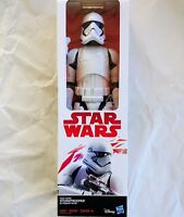 C1432 Star Wars E8 FIRST ORDER STORM TROOPER 12 Inch Action Figure 2017 NIB