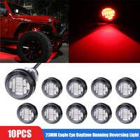 10pcs Red DC12V 15W Eagle Eye LED Daytime Running DRL Backup Light Car Rock Lamp