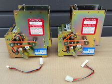 lot of (2) ASAHI SEIKO CD-200 Card Dispensers 200 card capacity 24VDC